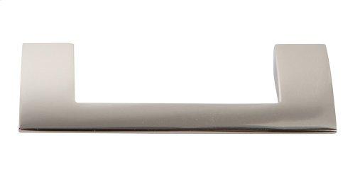 Angled Drop Pull 3 Inch (c-c) - Polished Nickel