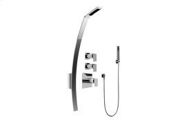 Luna Thermostatic Shower Set w/Handshower (Rough & Trim)
