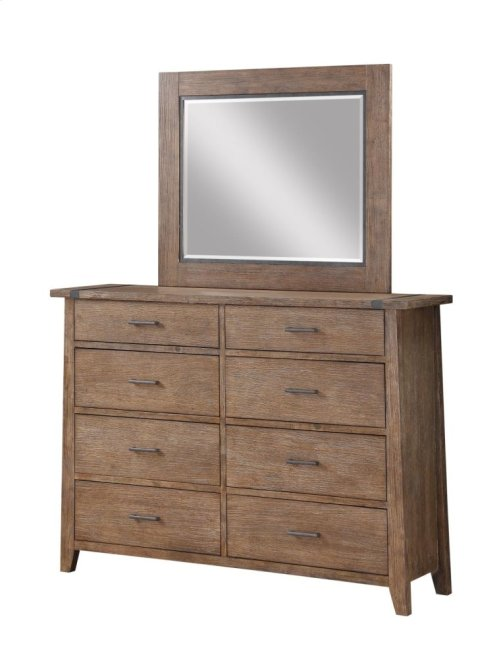 Emerald Home Viewpoint Mirror Driftwood B977-24