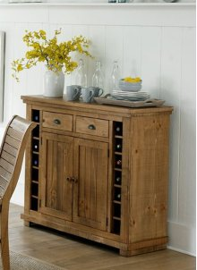 Server - Distressed Pine Finish