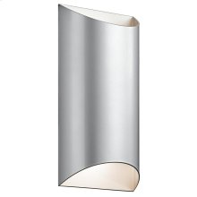 Wesley Collection Wesly 2 Light LED Outdoor Wall Light PL