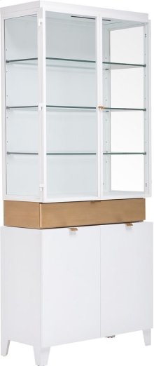 Muse Display Cabinet with Deck