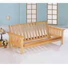 Casual Weathered Oak Futon Frame Product Image