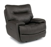 Evian Leather Power Gliding Recliner Product Image