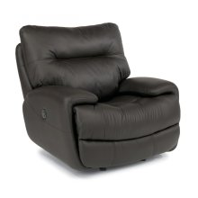 Evian Leather Power Gliding Recliner