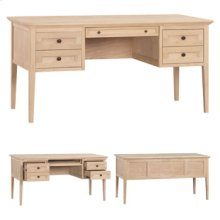 4 Drawer McKenzie Desk
