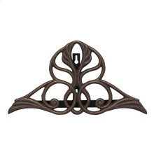 Victorian Hose Holder - Oil Rubbed Bronze