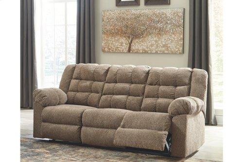 Workhorse Reclining Sofa - Cocoa