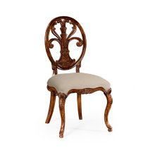 Sheraton Style Oval Back Chair (Side) - MAZO