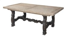 Emerald Home Barcelona Dining Table Rustic Pine D551-11base