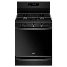 Whirlpool® 5.8 Cu. Ft. Freestanding Gas Range with Frozen Bake™ Technology - Black