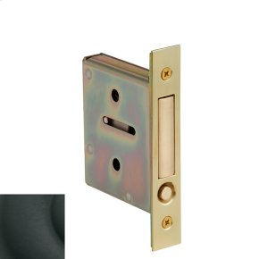 Satin Black 8601 Pocket Door Pull