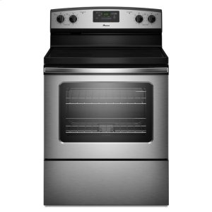 AmanaAmana(R) 30-inch Amana(R) Electric Range with Versatile Cooktop - Stainless Steel