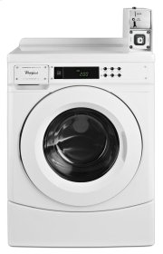 """27"""" Commercial High-Efficiency Energy Star-Qualified Front-Load Washer Featuring Factory-Installed Coin Drop with Coin Box Product Image"""