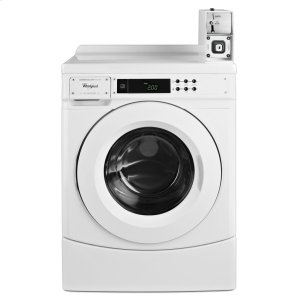 "WHIRLPOOL27"" Commercial High-Efficiency Energy Star-Qualified Front-Load Washer Featuring Factory-Installed Coin Drop with Coin Box"