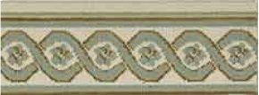 LUXE POINTE FLOWER TRELLIS LP13 IVGRN-B 7.6''