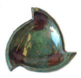 3 Pike Blue Turquoise Bowl BT