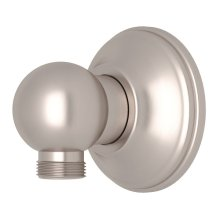 Satin Nickel Handshower Wall Outlet