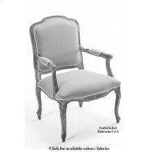 Pull Up Arm Chair Frame, Leather