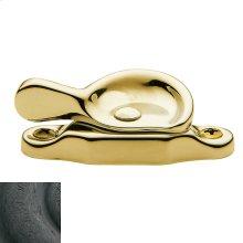 Distressed Oil-Rubbed Bronze Sash Lock