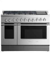"""Dual Fuel Range 48"""", 6 Burners with Griddle (LPG) Product Image"""