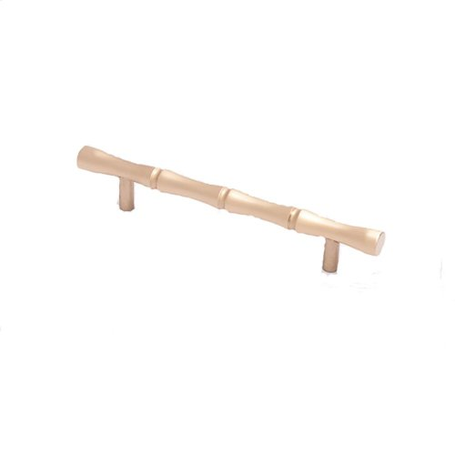 "4-1/2"" center to center Bamboo Pull - Satin Brass"