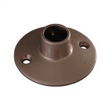 Shower Rod Flange - Polished Chrome