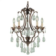 5 - Light Mini Duo Chandelier