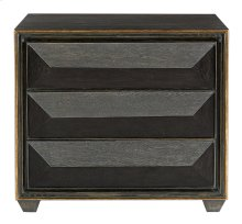 Quinn Bachelor's Chest in Black Limed