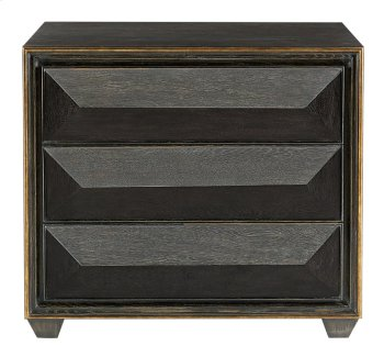 Quinn Bachelor's Chest in Black Limed Product Image