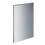 Gfvi 453/72-1 - Int. Front Panel: W X H, 18 X 28 In Clean Touch Steel(tm) W/o Handle & Bore Holes For Fully Integrated Dishwashers