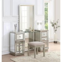 Vanity Mirror and Stool 2 CTN Product Image
