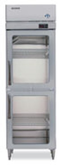 RH1-SSB-HG TempGuard® Glass Door Refrigerator Series