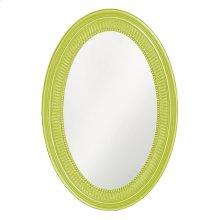 Ethan Mirror - Glossy Green