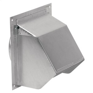 "BestWall Cap for 6"" Round Duct for Range Hoods and Bath Ventilation Fans"