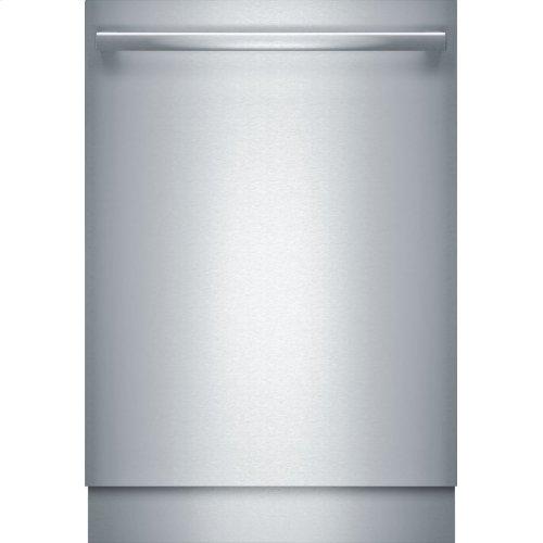 Benchmark® built-under dishwasher 24'' Stainless steel SHX89PW75N