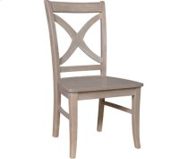 Salerno Chair Weathered Gray Product Image