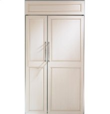 "GE Monogram® 42"" Built-In Side-by-Side Refrigerator"