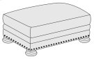 Foster Ottoman in Brandy (703) Product Image