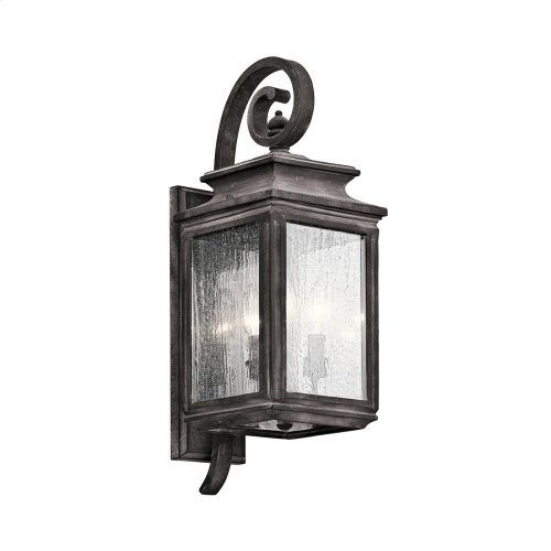 Wiscombe Park Collection Outdoor Wall 3 Light WZC