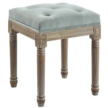 Colette Single Square Bench in Sage Grey