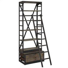 Velocity Wood Bookshelf in Brown Product Image