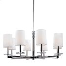 Chelsea Chandelier - Polished Nickel Product Image