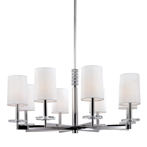 Chelsea Chandelier - Polished Nickel