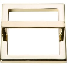 Tableau Square Base and Top 3 Inch - French Gold