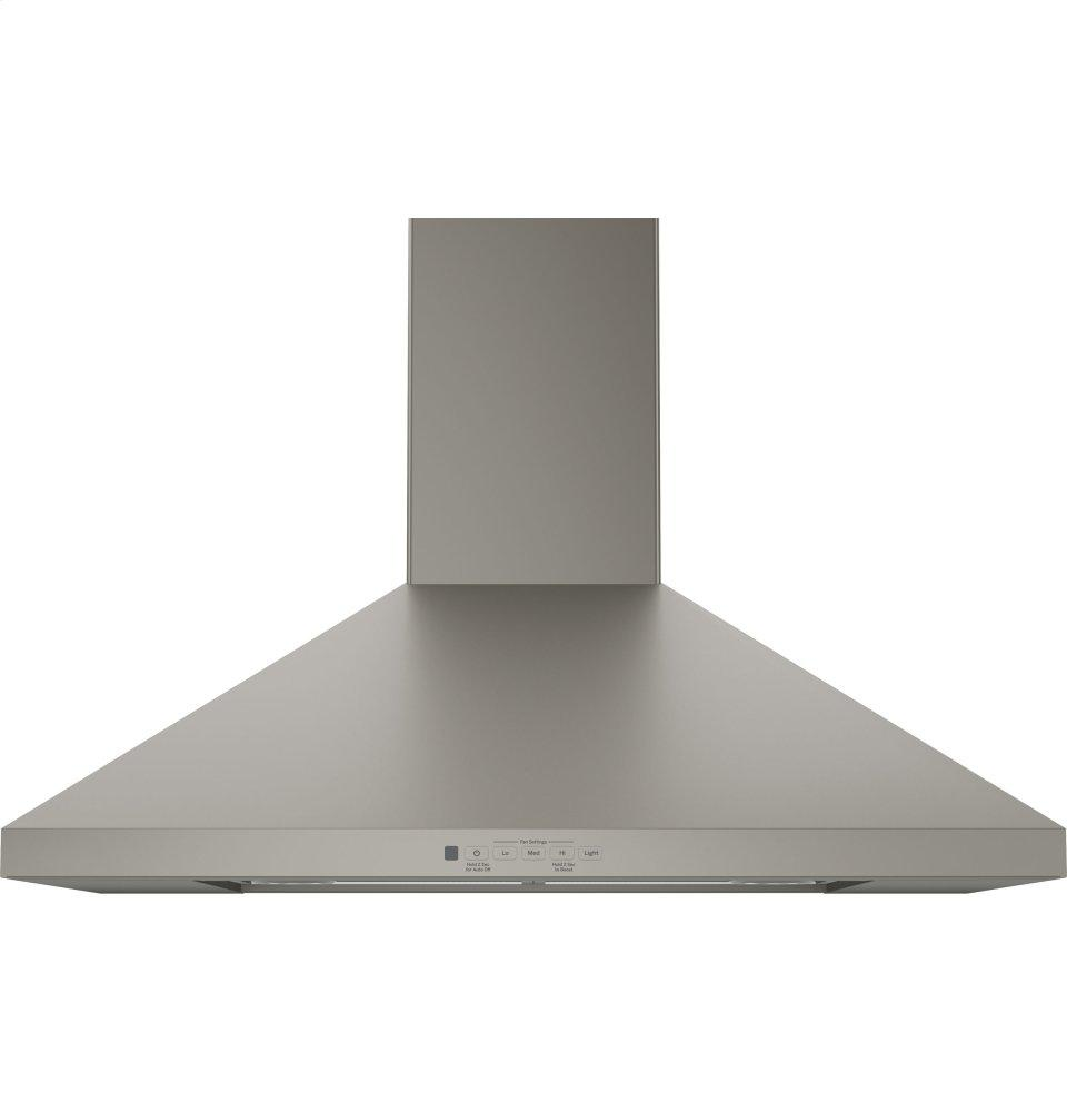 "GE(R) 30"" Wall-Mount Pyramid Chimney Hood
