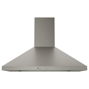 "GE ProfileGE® 30"" Wall-Mount Pyramid Chimney Hood"