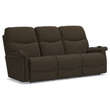 Baylor Power Wall Reclining Sofa w/ Headrest & Lumbar