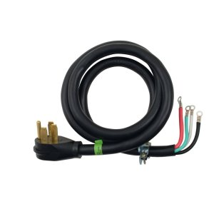 4' 4-Wire 40 amp Power Cord -