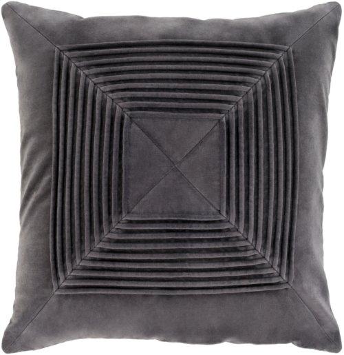 """Akira AKA-004 22"""" x 22"""" Pillow Shell with Polyester Insert"""